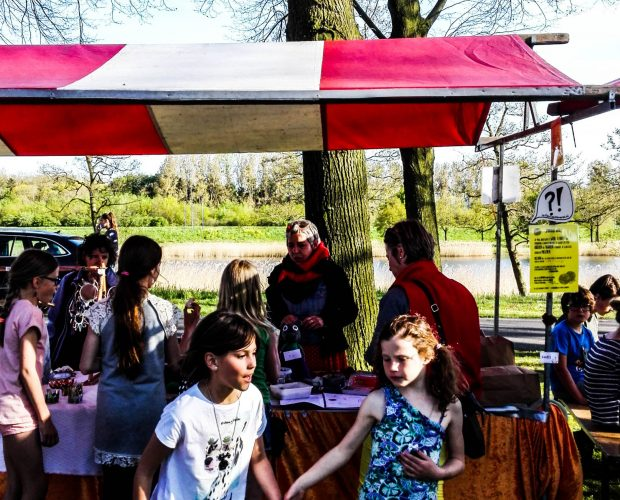 Zelfgemaakte Markt bij Bevrijdingsfestival Brabant