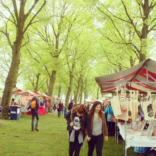 Zelfgemaakte Markt ? Bevrijdingsfestival Brabant