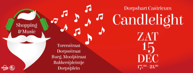 Candlelight shopping & music, Castricum