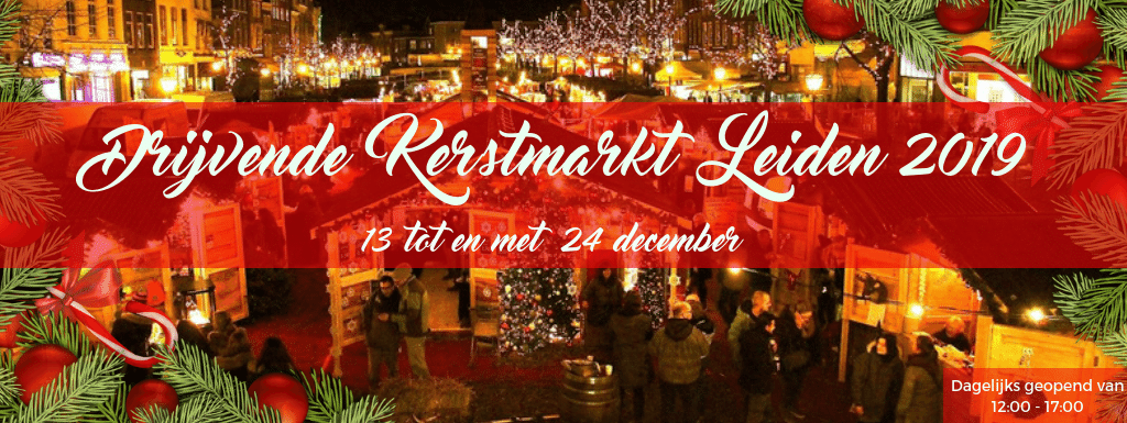 De Drijvende Kerstmarkt, Leiden